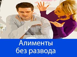 Алименты на детей если брак еще не расторгнут и супруги живут вместе